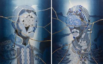 Women-A / Men-UN    -Japan blue-