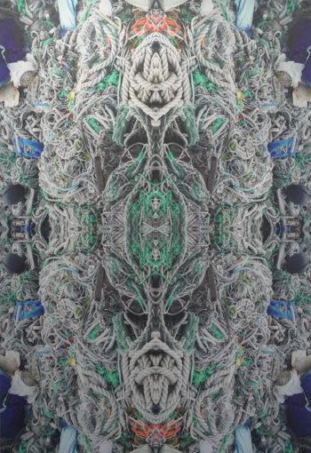 Fountain#Drifters / 2.5D print_01 / unique